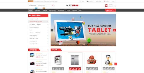 Maxshop - Responsive & Multi-Purpose eCommerce HTML Template