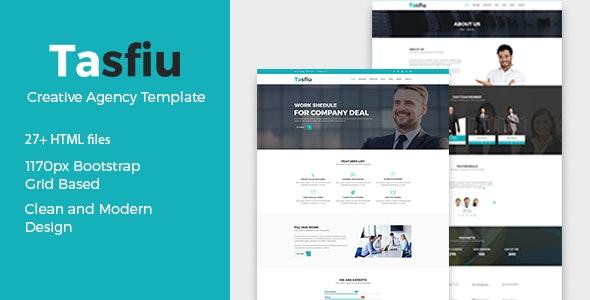 Tasfiu – Corporate Business HTML Template - Business Corporate
