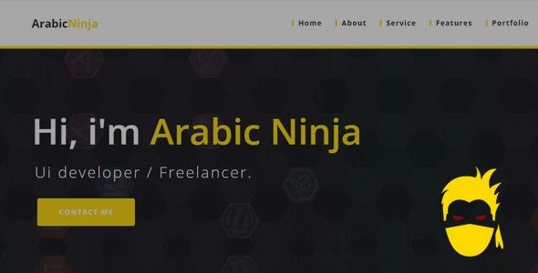 ArabicNinja Portfolio - Portfolio Creative