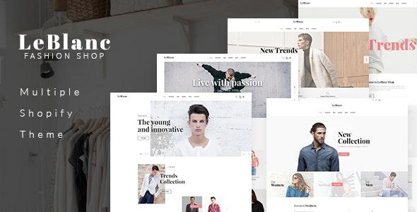 Ap Leblanc Shopify Theme - Fashion Shopify