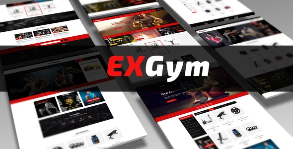 Leo Exgym Responsive Prestashop Theme for Equipment & Sport Store - PrestaShop eCommerce