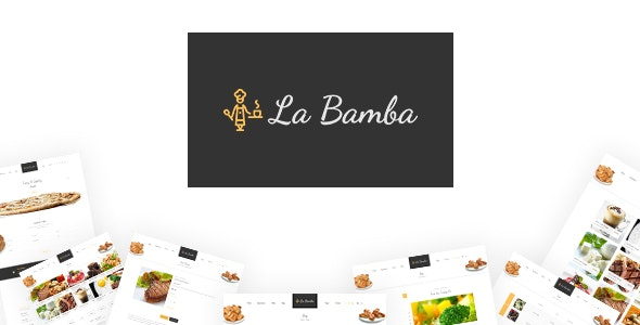 La Bamba - Restaurant PSD Template - Food Retail