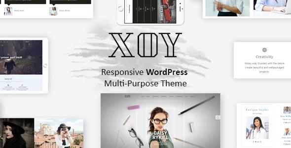 XOY - Multipurpose WordPress Theme - Business Corporate