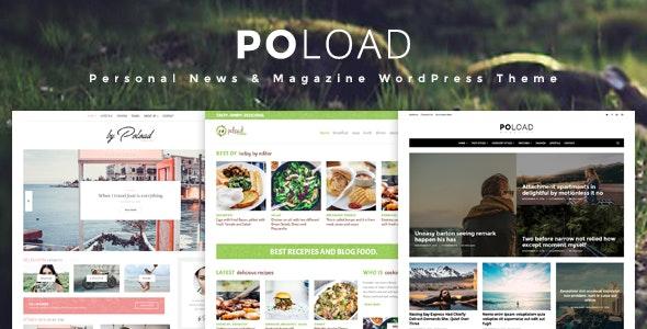 POLOAD – Fashion, Food, Baby, Blog WordPress Theme - Blog / Magazine WordPress