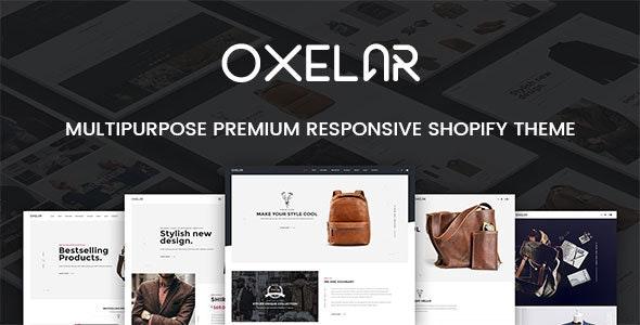 Oxelar - Fashion Responsive Shopify Theme - Fashion Shopify