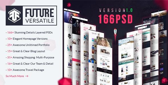 The Future | Multi-Purpose PSD Template - Photoshop UI Templates