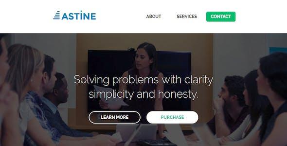 Astine – Responsive Email + StampReady Builder & Mailchimp Editor