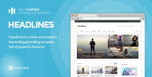 IT Headlines - Gantry 5, News/Magazine & Blog Joomla Template