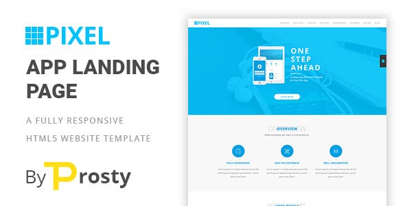Pixelate Email, Newsletter and Landing Page Templates