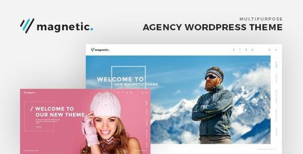 Magnetic - Agency WordPress Theme - Corporate WordPress