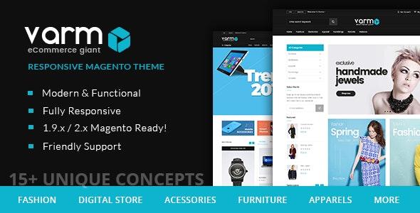 Varmo - Magento Multipurpose Responsive Theme - Magento eCommerce