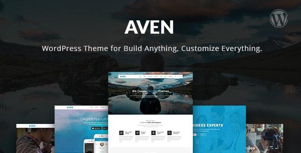 Aven - The Multi-Purpose WordPress Theme - Creative WordPress