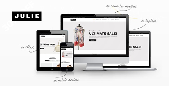 Julie - Prestashop Fashion Theme - PrestaShop eCommerce