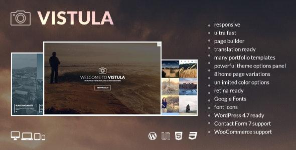 Vistula - Photography WordPress Theme - Photography Creative