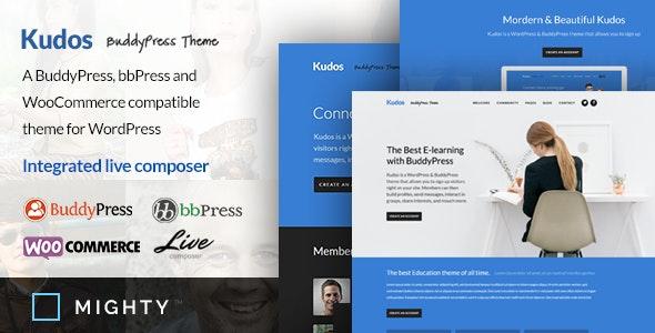 Kudos BuddyPress Theme - BuddyPress WordPress