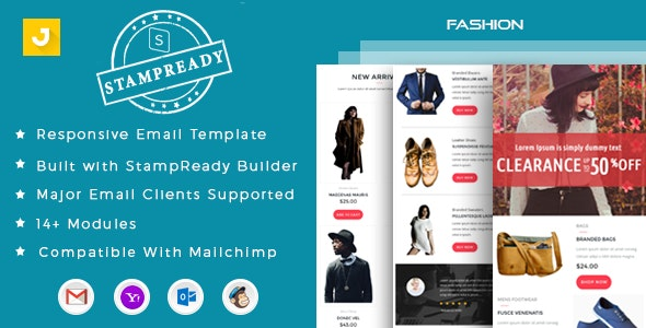 Fashion - Email Marketing Template - Email Templates Marketing