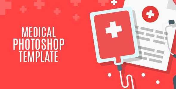 Medical - PSD Landing Page - Health & Beauty Retail