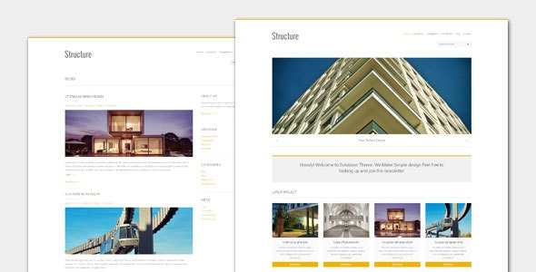 Structure: Business WordPress Theme - Business Corporate