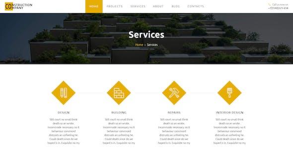 MONNOLIT — Construction PSD Template