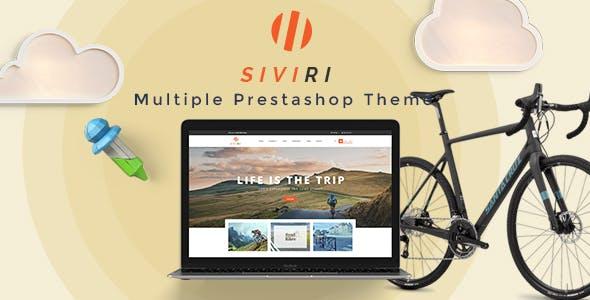Leo Siviri Responsive Prestashop Theme for Bike & Transportation