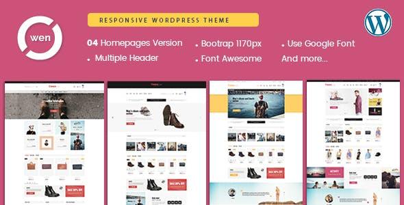 Owen - Fashion & Multipurpose WordPress Theme