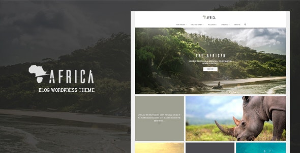 Africa - WordPress Blog Theme - WordPress