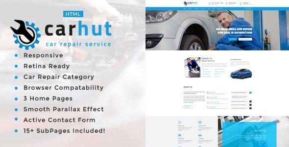 Car Hut || Auto Mechanic & Car Repair Template - Business Corporate