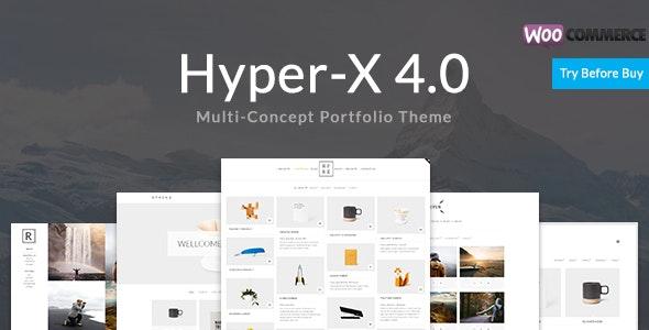 HyperX – Responsive WordPress Portfolio Theme