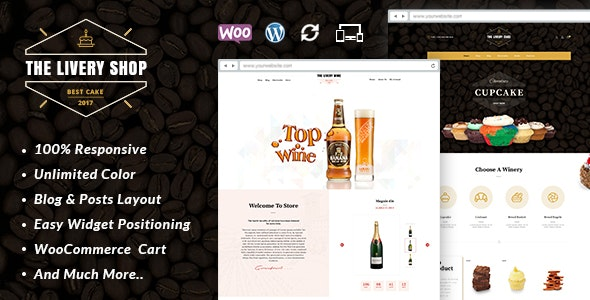 Livery Shop - Multipurpose WooCommerce Theme - WooCommerce eCommerce