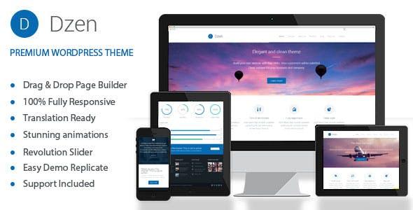 Dzen - Multipurpose Business & Event WordPress Theme