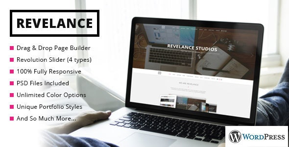 Revelance - Multi/One-Page Business Parallax Theme - Business Corporate