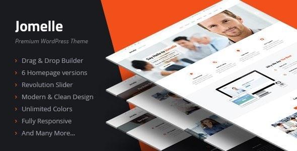 Jomelle - Multipurpose Business WordPress Theme - Business Corporate