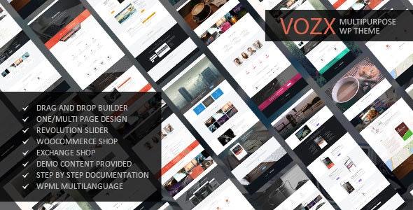 Vozx - Multipurpose & Event WordPress Theme - Business Corporate