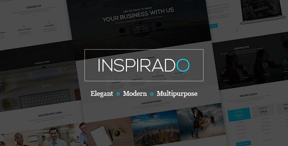 Inspirado - Multi-Purpose & Event WordPress Theme - Business Corporate