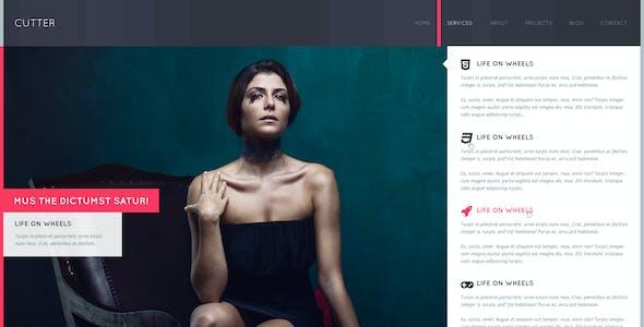 Cutter - Corporate Project Multipurpose PSD Template