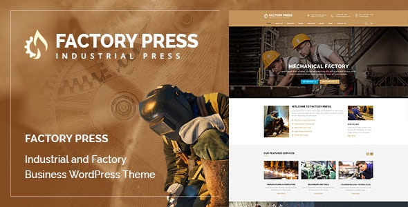 Factory Press - WordPress Theme - Corporate WordPress