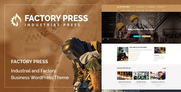 Factory Press - WordPress Theme