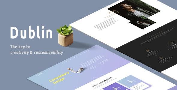 Dublin - HTML5 Theme - Corporate Site Templates