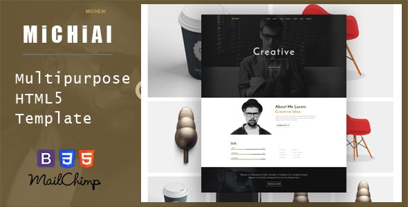 Micheal - Onepage and Multipurpose HTML Template - Creative Site Templates