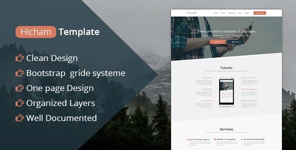 Azulapp - Creative PSD Landing Page Template - Marketing Corporate