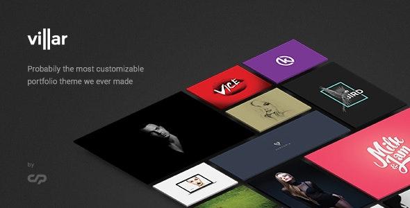 Villar - Creative Portfolio WordPress Theme - Portfolio Creative