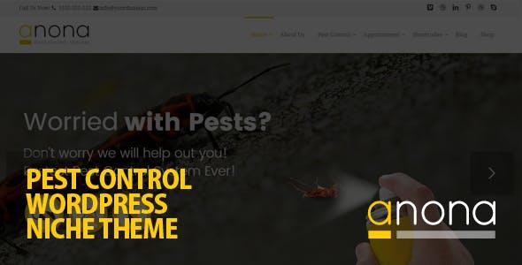 Anona - Pest Control WordPress Theme