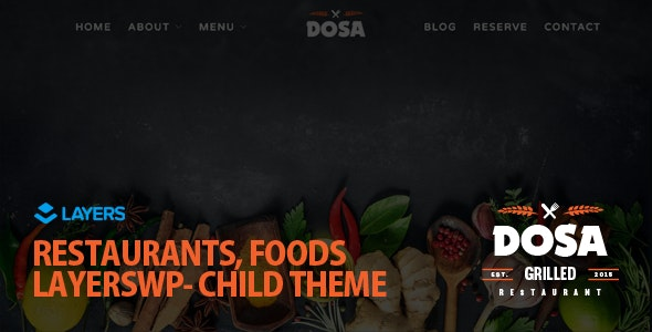 DOSA - LayersWP Multipurpose Child Theme - Miscellaneous WordPress
