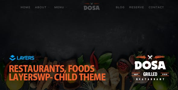DOSA - LayersWP Multipurpose Child Theme
