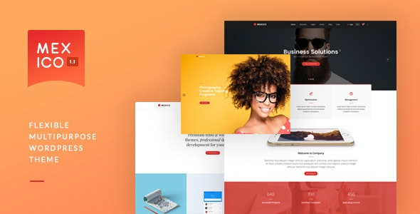 Mexico - Flexible Multipurpose WordPress Theme - Corporate WordPress