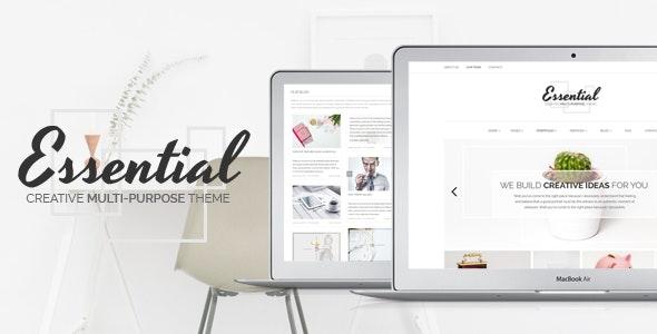 Essential - Creative Multi-Purpose Portfolio Theme - Creative WordPress