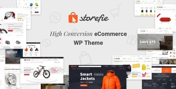 Storefie - High Conversion eCommerce WordPress Theme - WooCommerce eCommerce