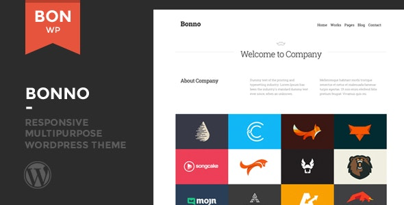 Bonno - Responsive Multipurpose WordPress Theme - Corporate WordPress
