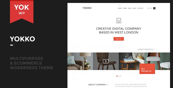 Yokko - Multipurpose and WooCommerce WordPress Theme - Corporate WordPress