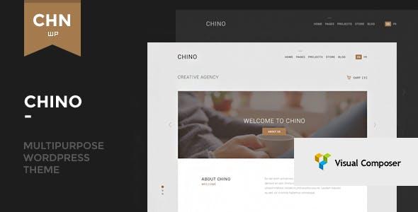 Chino - Responsive Multipurpose WordPress Theme